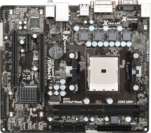 Asrock FM2A55M-DGS AMD All-in-1 64 Bit