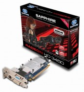 Sapphire HD 3450 256MB DDR2 PCI-E Low Profile PCB with VGA Cable