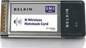 Belkin F5D8013 N Wireless Notebook Card